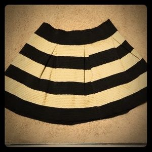 Gold and Black Skirt